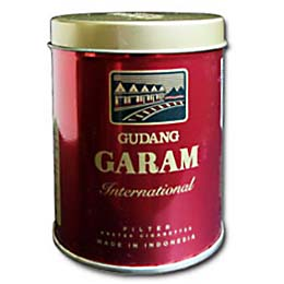 Gudang Garam International Kaleng